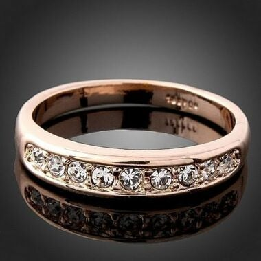 Jewelry High Quality White Cz Lover Wedding Ring C21